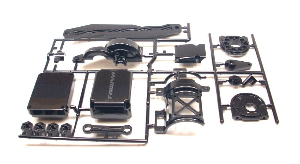 Tamiya 1:10 TT-02 Chassis Q-Teile V-Teile Stoßdämpfergehäuse 50598 T2R®